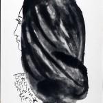 Da Vingt poèms de Gòngora, 1948, Femme à la fraise, de profil