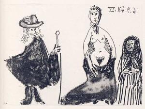 Da La Célestine, 1968, Jeune fille, Célestine et petit-maitre