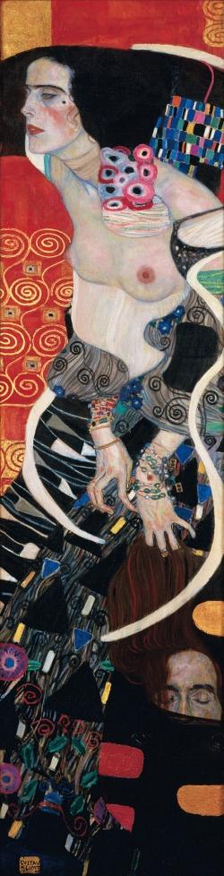 Gustav Klimt, Salomè, 1909, Olio su tela, cm 178 x 46, Venezia, Ca' Pesaro, Galleria Internazionaled'Arte Moderna