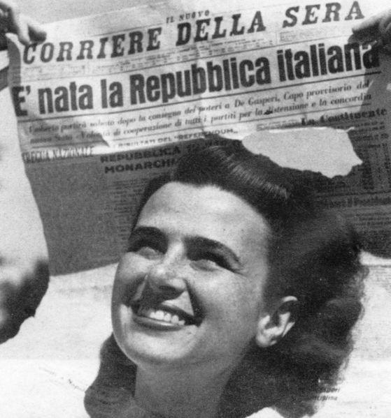 nata la repubblica italiana