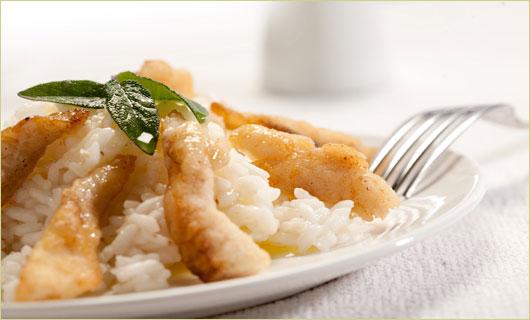 risotto pesce persico
