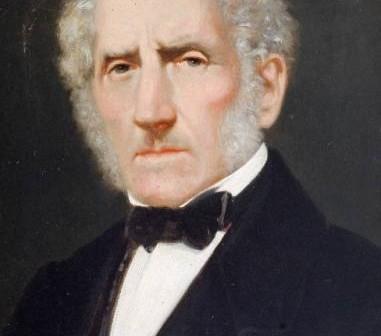 Ritratto di Alessandro Manzoni di Giuseppe Molteni