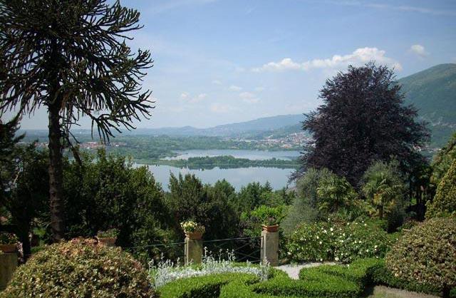 Vista da Villa Bertarelli, Galbiate