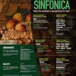 locandina 2014 STAGIONE SINFONICA VERDE