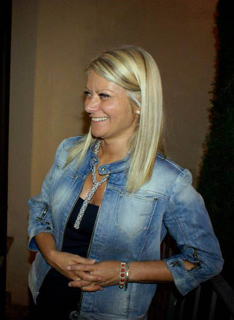 Sabina Melesi, titolare della Galleria Melesi