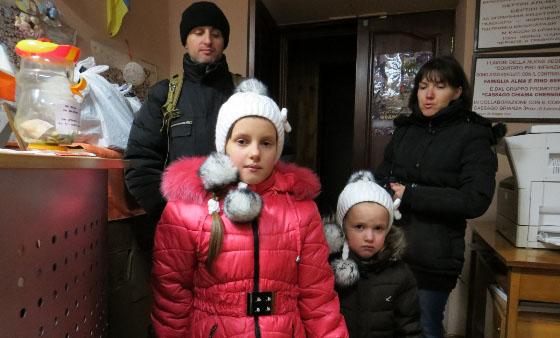 famiglia ucraina