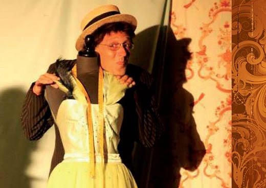 """""""Sarto per signora"""", compagnia Teatro San Giovanni fondata nel 1810"""