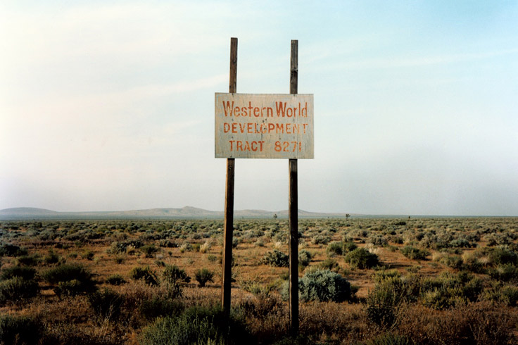Western World Development, California 1986. @ Wim Wenders