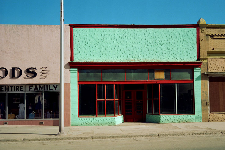 Entire Family Las Vegas New Mexico, 1983. @ Wim Wenders