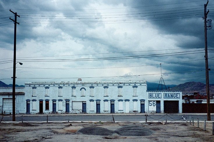 Blue Range, Montana, 2000. @ Wim Wenders