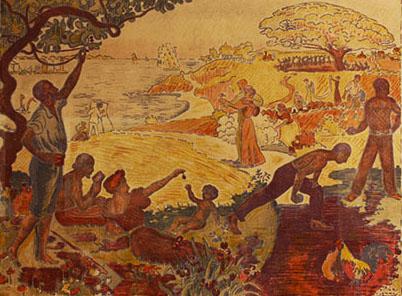 Paul Signac, Au temps d'harmonie (Al tempo dell'armonia), 1895-1896 Litografia Collezione privata, Parigi