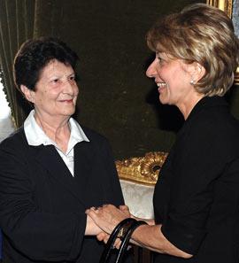 Licia Pinelli e Gemma Calabresi