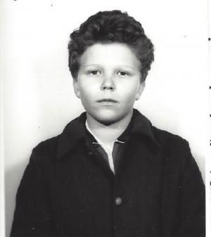 Pietro Galli da bambino
