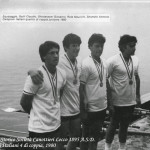 1981_Campionati Italiani quattro di coppia