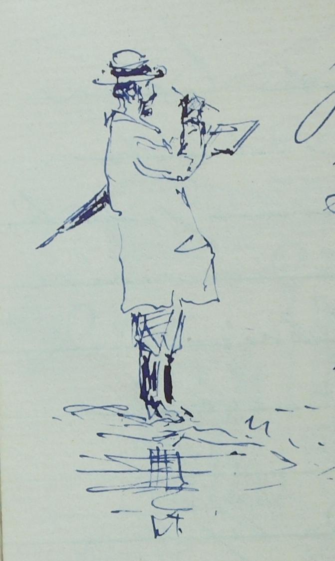 Autoritratto di Alessandro Greppi
