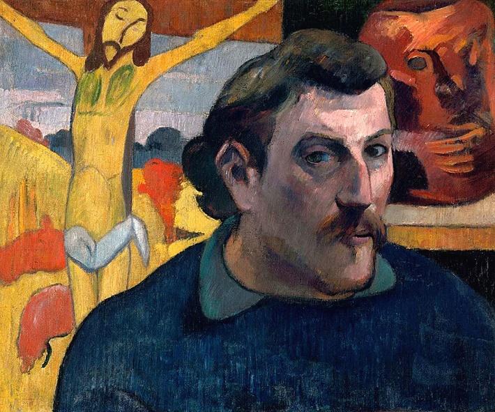 Autoritratto con Cristo giallo