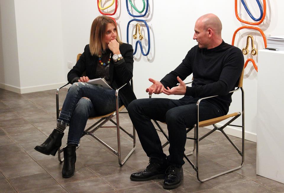 Chiara Gatti e Fabrizio Dusi alla Galleria Melesi