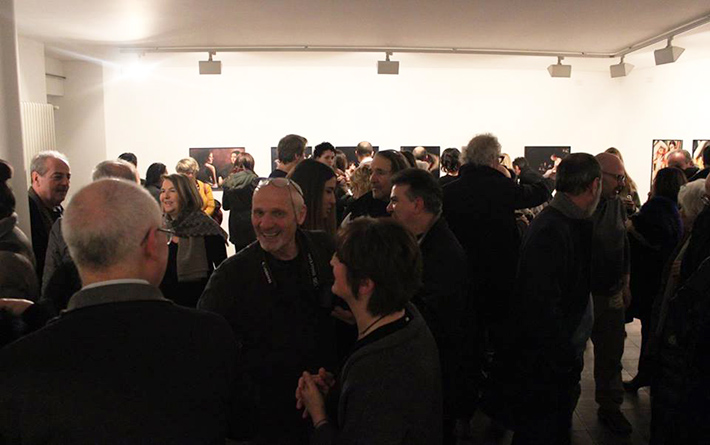Inaugurazione della mostra