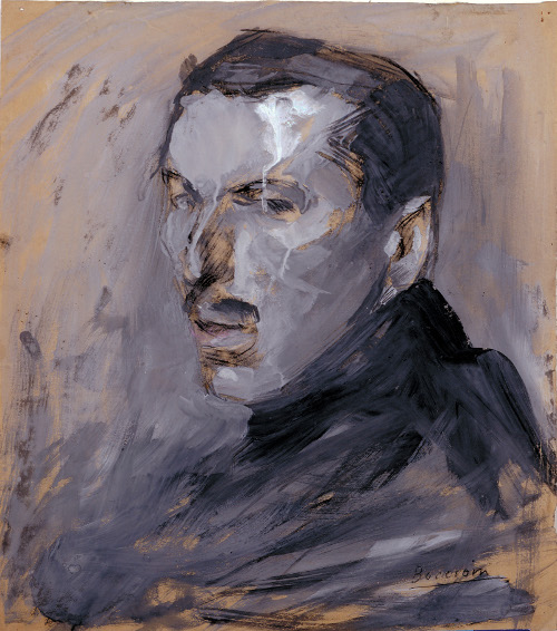 Boccioni Autoritratto 1909
