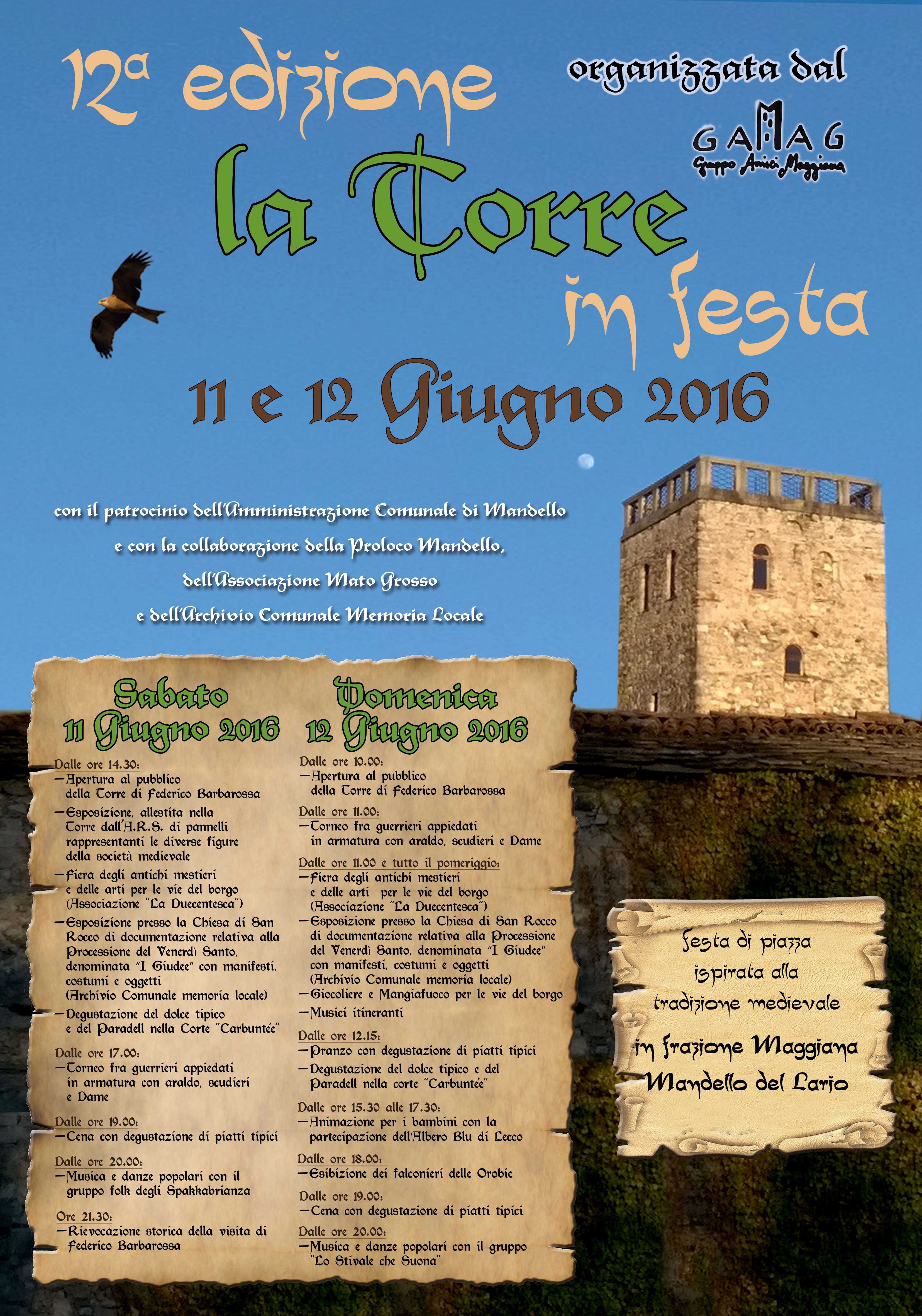 maggiana la torre in festa 2016