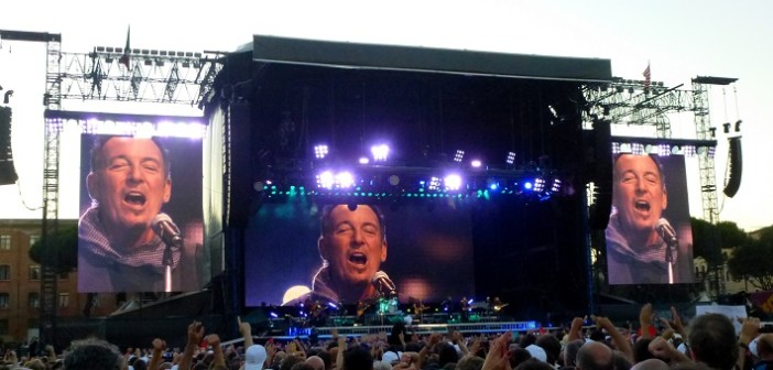 Springsteen Roma @ Matteo Manente