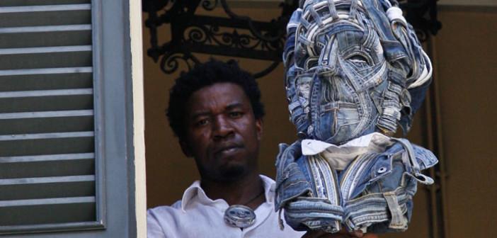 """""""Manzoni in Blue Jeans""""<br /> Esposta a Villa Manzoni l'ultima opera di Afran. L'intervista all'artista"""