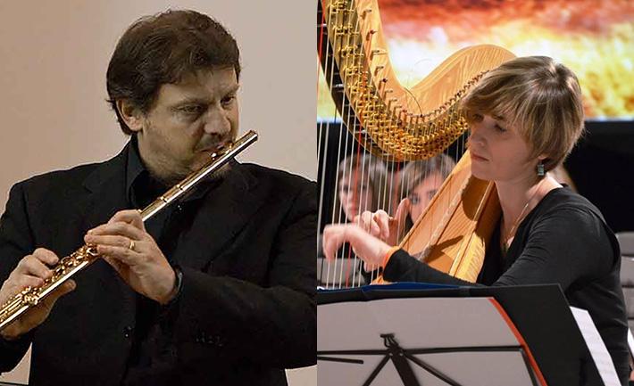 Risultati immagini per arpa flauto