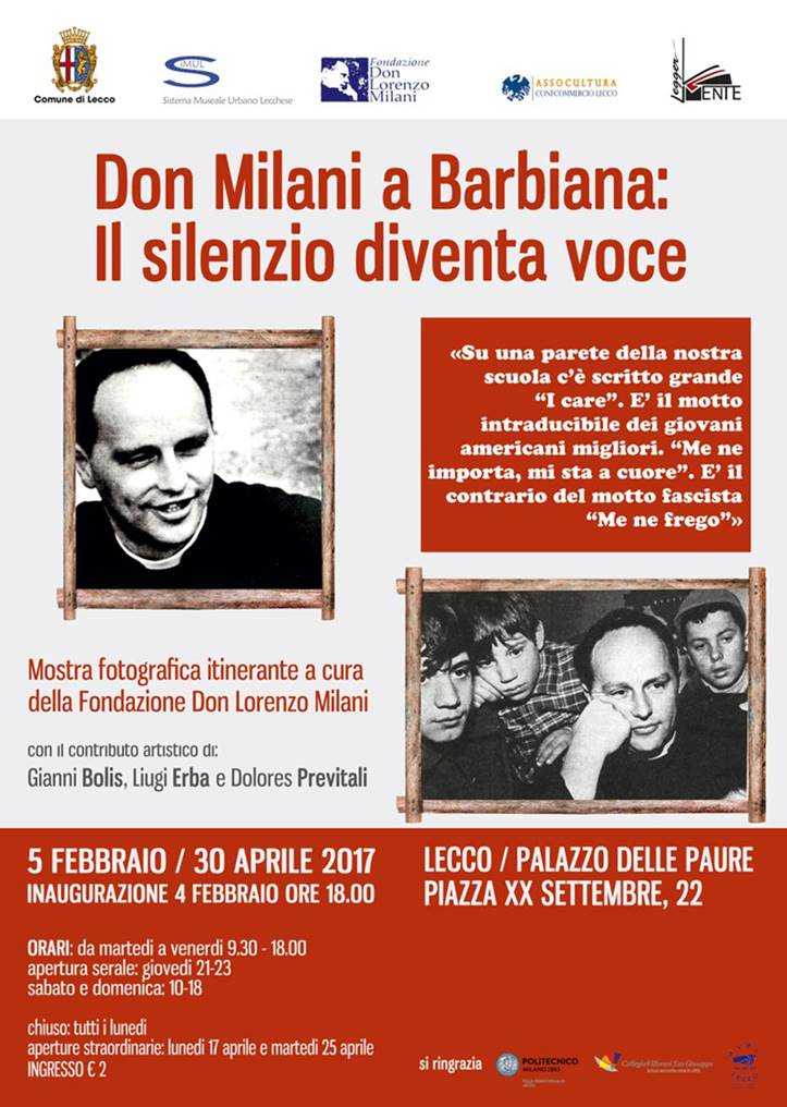 don milani mostra