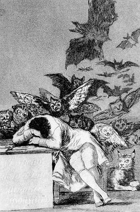 """""""Il sonno della ragione genera mostri"""""""