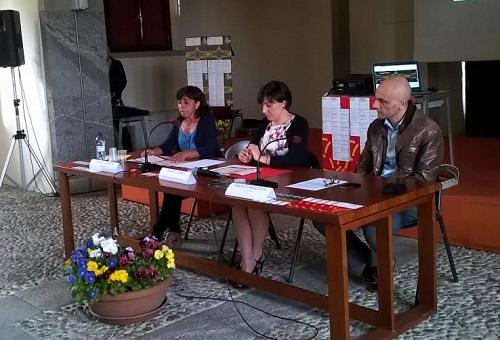 conferenza stampa - Laura Caspani, Marta Comi, Marco Molteni