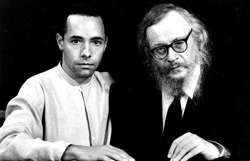 Thomas Richards e Jerzy Grotowski