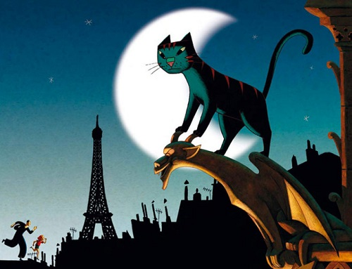 un gatto a parigi