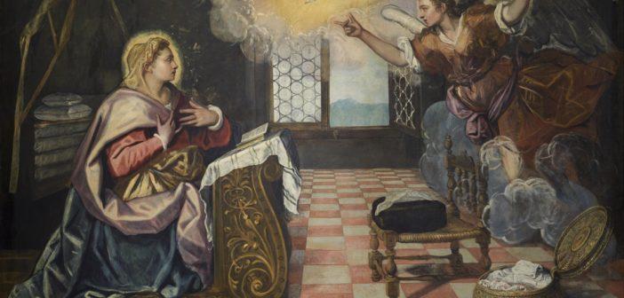 Il Tintoretto si rivela alla città:<br>a Lecco l'Annunciazione del Doge Grimani del grande maestro veneziano